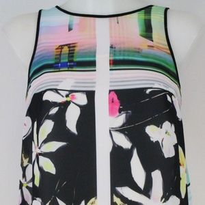 Clover Canyon Multi-Color Print Tank Size Small